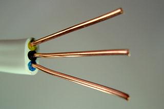 Rodzaje przewodów elektrycznych.